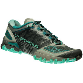 La Sportiva Bushido Running Shoes Women grey/turquoise